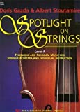 img - for Spotlight on Strings, Level 1 String Bass book / textbook / text book