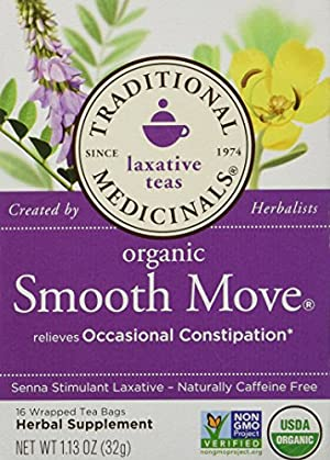 Traditional Blends Tea's-Smooth Move Traditional Medicinals 16 Bag