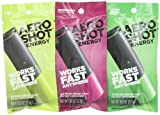 AeroShot Energy, Green Apple,Lime and Raspberry  (Pack of 12)