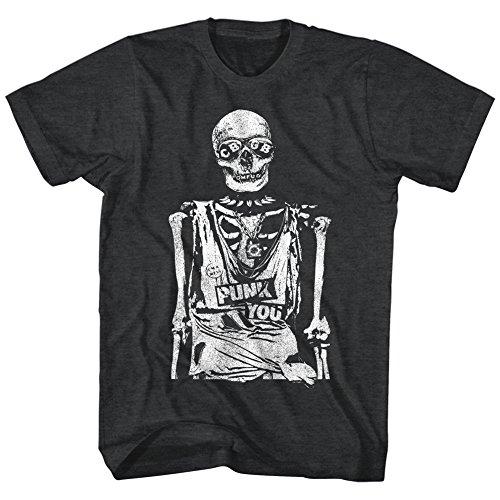 CBGB -  T-shirt - Uomo Black Heather Medium