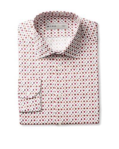 Etro Men's Allover Print Long Sleeve Dress Shirt