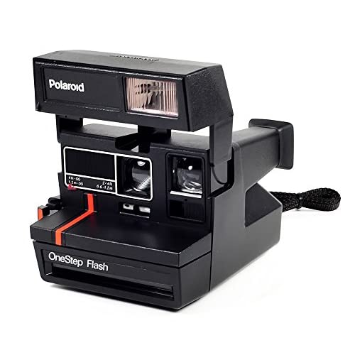 Vintage Polaroid One Step Flash Camera