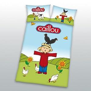 Flanellbettwäsche Caillou Kinder Bettwäsche Flanell 40 X 60 Cm