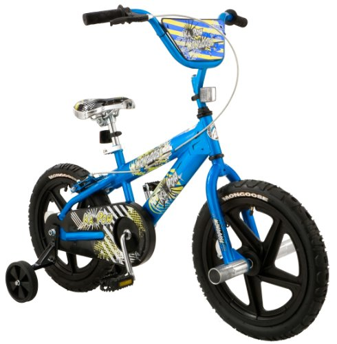 Mongoose Boy's 16-Inch Kapow Bike