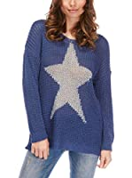 ELEGANCIA Jersey Antik (Azul)