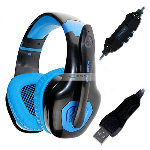 Generic Sades A50 7.1 Surround Sound Effect Usb Gaming Headset Headphone With Adjustable Mic