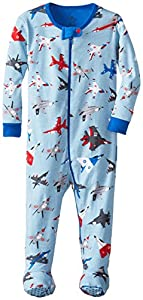 Hatley Infant Footed Coverall -Fighter Jets - Pijama para bebés