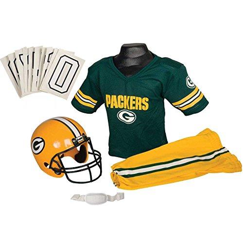 Franklin Sports Boys NFL Packers Uniform Fancy dress costume