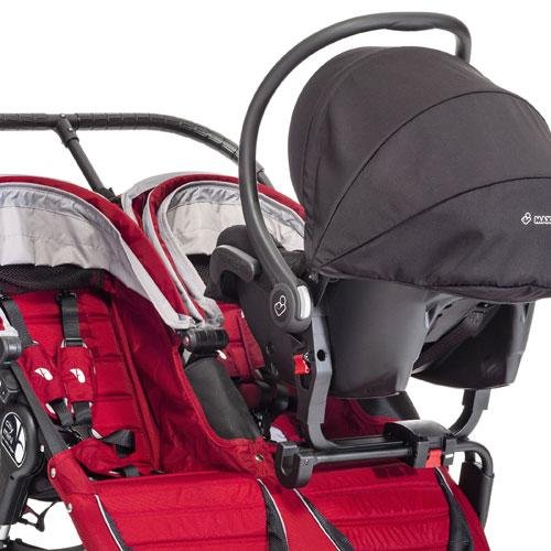 Baby Jogger Car Seat Adaptor - Double (Mini/Elite/Classic/Summit) front-806202