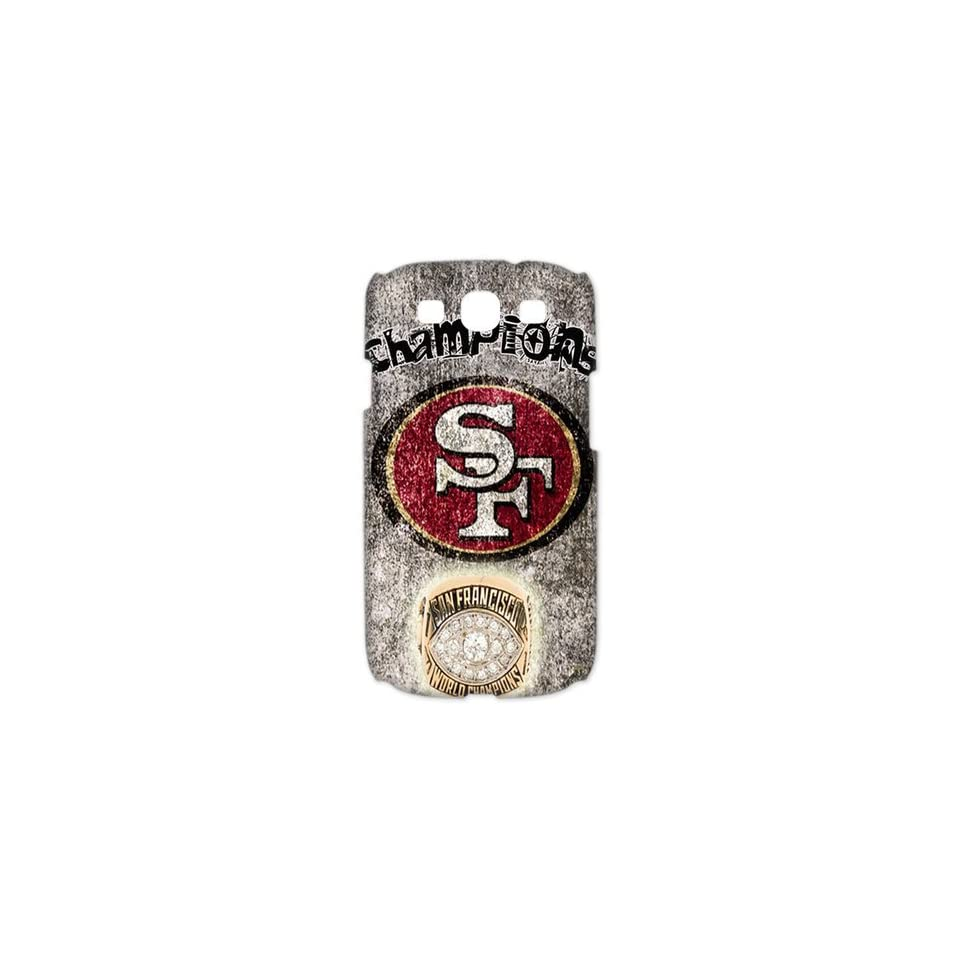 WY Supplier NFL San Francisco 49ers Team Samsung Galaxy S3 I9300 3D Case San Francisco 49ers logo designs WY Supplier 148083 Cell Phones & Accessories