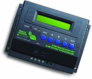 Nature Power 60028 28-Amp/455-Watt 12-Volt/24-Volt Digital Solar Power Charge Controller