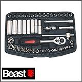 Beast Steckschlüssel Ratschen Set 48 tlg. 1