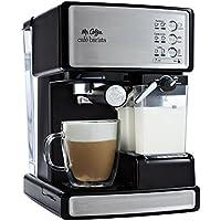 Mr. Coffee ECMP1000 Cafe Barista Premium Espresso/Cappuccino Maker (Black)