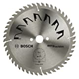 Bosch 2609256875 Precision Circular Saw Blade with 48 Teeth / Carbide / Clean Cut / 230 mm Diameter / 30 mm Bore / Reduction Ring / 2.5 mm Cutting Width
