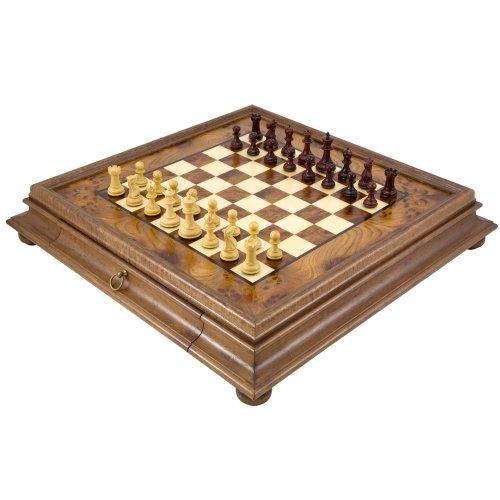 The Sandringham Tres Corone Traditional Chess Set