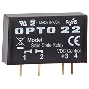 opto 22 mp120d2 mp model dc control solid state relay 120. Black Bedroom Furniture Sets. Home Design Ideas