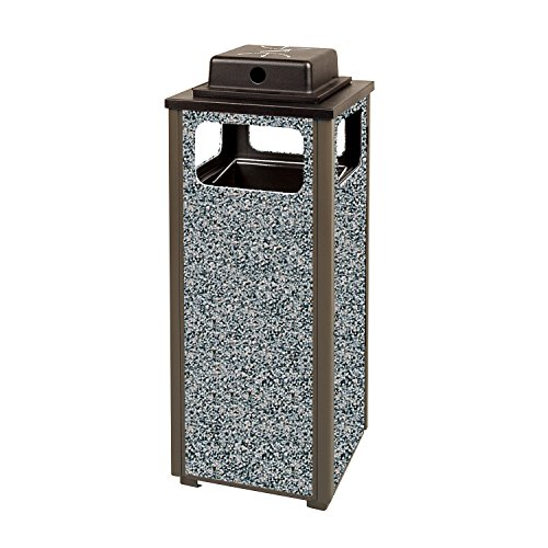 Rubbermaid Commercial Fgr12Wu6000Pl Ash Refuse Container