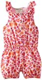 Carters Watch the Wear Baby-Girls Infant Romper With Cheetah Print