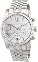 Michael Kors Mid-Size Stainless Steel Lexington Chronograph Women's watch #MK5555