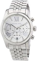 Michael Kors Mid-Size Stainless Steel Lexington Chronograph Women's watch #MK5555