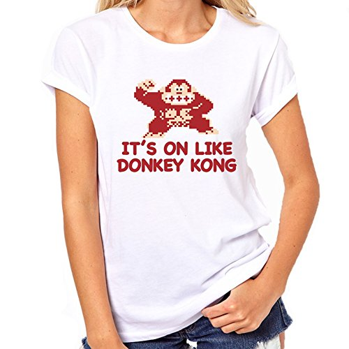 It's On Like Donkey Kong T-Shirt Womens Classic