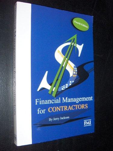 Financial management for contractors