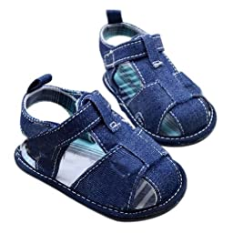 WXBUY Baby Boys Toddler Jean Sandal Shoes Little Kid Shoes