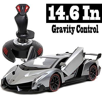 Holy Stone 2962A Lamborghini Veneno 1/14 Scale, Gravity Sensor Radio Control Vehicle Diecast Model