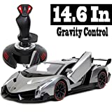 Holy Stone® Lamborghini Veneno 1:14 Scale, Gravity Sensor/Radio Control RC Vehicle Diecast Model