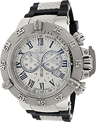 Invicta Men's 16877 Subaqua Analog Display Swiss Quartz Black Watch