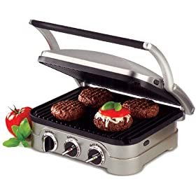 Factory Reconditioned Cuisinart GR-4 Griddler
