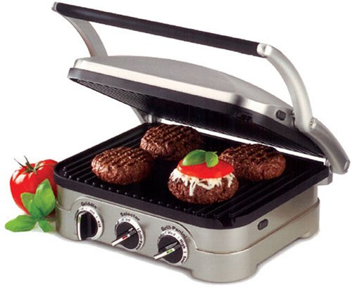 Factory-Reconditioned Cuisinart Gr-4 Griddler