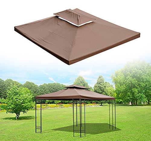 toile-de-toit-rechange-pour-pavillon-tonnelle-tente-3x4m-chocolat-neuf-82