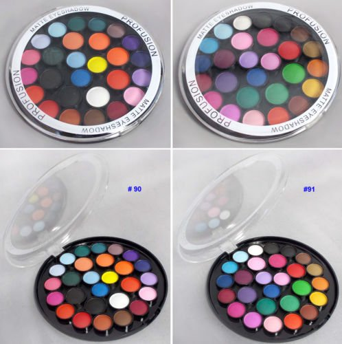 Cosmetics 27 Color Matte Eyeshadow Palette Makeup Eye Shadow ( # ECOSF334)#91 (Ebay Pur compare prices)