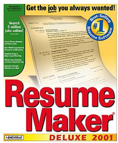 Resumemaker Deluxe Edition 8.0