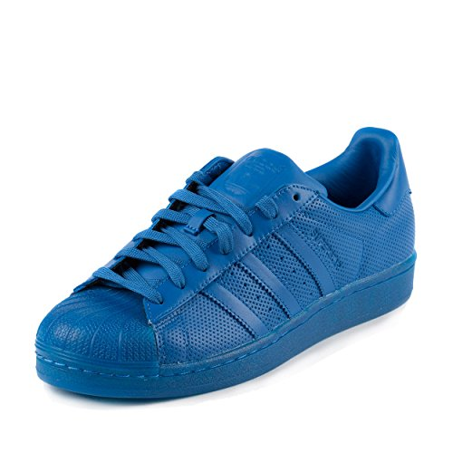 Adidas Men Superstar Adicolor (blue) Size 13 US
