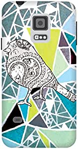 The Racoon Lean Uncaged hard plastic printed back case / cover for Samsung Galaxy S5 Mini