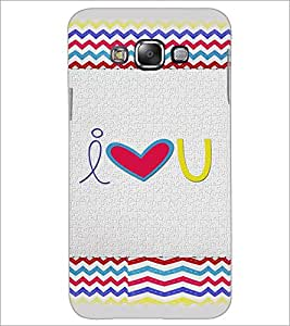 PrintDhaba Quote D-4825 Back Case Cover for SAMSUNG GALAXY E7 (Multi-Coloured)