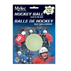 Buy Mylec Glow in the Dark Hockey Balls, (Pack of 3) by Mylec