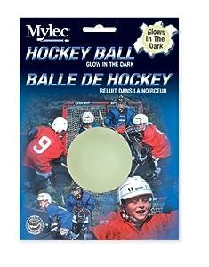 Mylec Glow in the Dark Hockey Ball