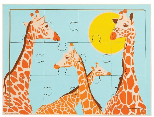 Picture of Kid O Kid O Noticing Differences Giraffe Puzzle (12 pc) -- (B005H7BA8C) (Floor Puzzles)