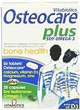 Vitabiotics Osteocare Plus Omega-3 and Soy Isoflavones - 84 Tablets/Capsules by Vitabiotics