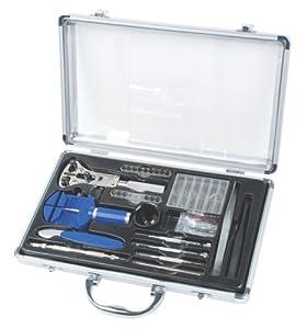 Mannesmann Set d'outils d'horloger Coffret en aluminium (Import Allemagne)