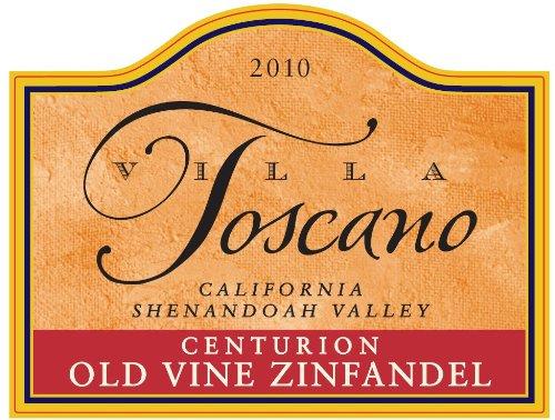 2011 Villa Toscano Winery Centurion Old Vine California Shenandoah Valley Zinfandel 750 Ml