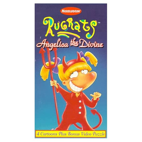 Amazon.com: Rugrats - Angelica the Divine [VHS]: Elizabeth Daily