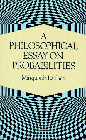Large book cover: A Philosophical Essay on Probabilities