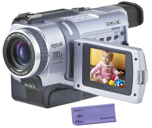 "Sony Dcrtrv340 Digital8 Camcorder W/ 2.5"" Lcd Usb Streaming, & Memory Stick Capability"