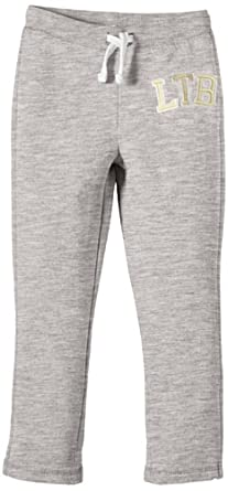 LTB Jeans - Jaina Tracksuit - Pantalon de sport Fille - Gris (Light Grey Mel) - FR : 6 ans (Taille fabricant : 116)