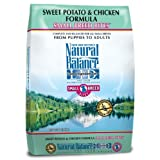 Natural Balance L.I.D. Limited Ingredient Diets Sweet Potato and Chicken Small Breed Bites Formula for Dogs, 12-1/2-Pound Bag ~ Natural Balance