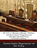 img - for AR 215-1: Military Morale, Welfare, and Recreation Programs and Nonappropriated Fund Instrumentalities book / textbook / text book